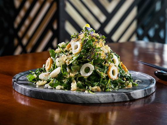 Spring Maguro salad