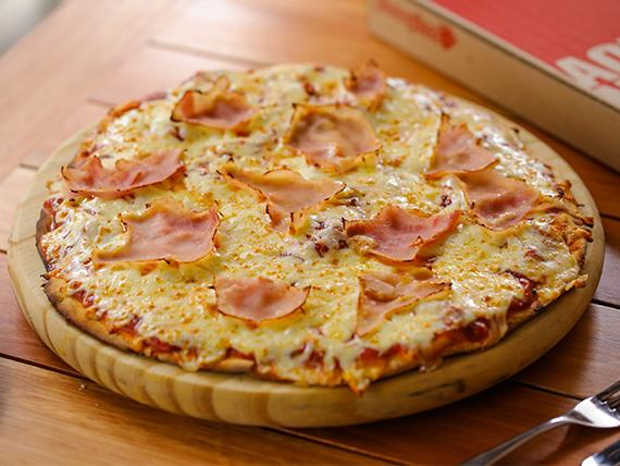 Pizza con jamón de cerdo natural (42 cm)