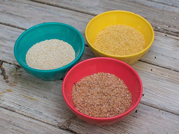 Germen de trigo 200 g + salvado de trigo 300 g + salvado de avena 200 g