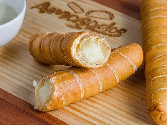 Tequeños de queso 18 cms