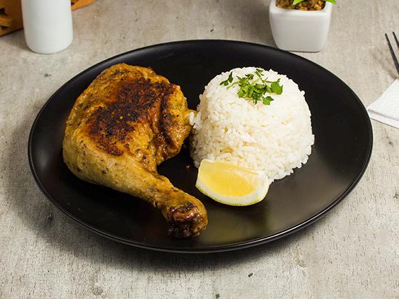 Trutro de pollo al horno