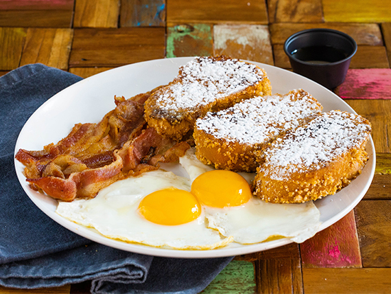 Challah French Toast Special