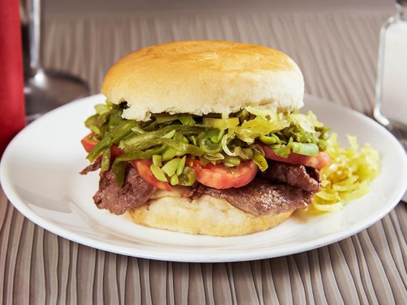Sándwich chacarero 1