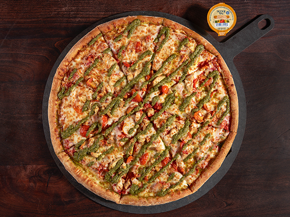 Pizza chicken pesto XL