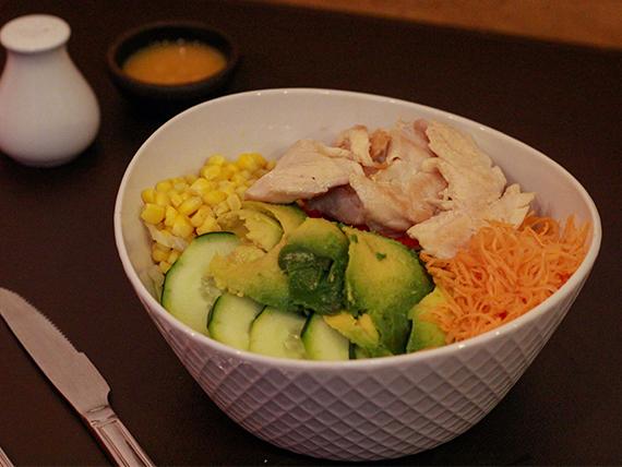 Bowl de pollo grillé