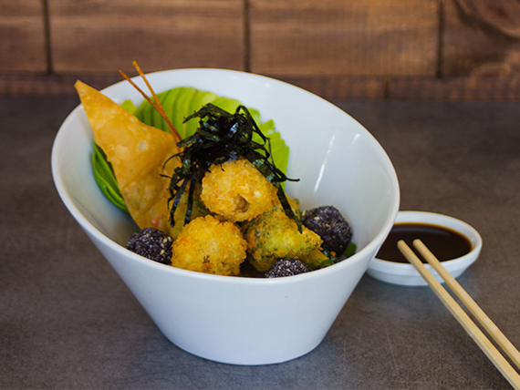 Veggie crunch gohan