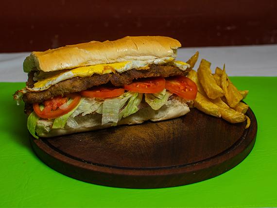 Sándwich de milanesa