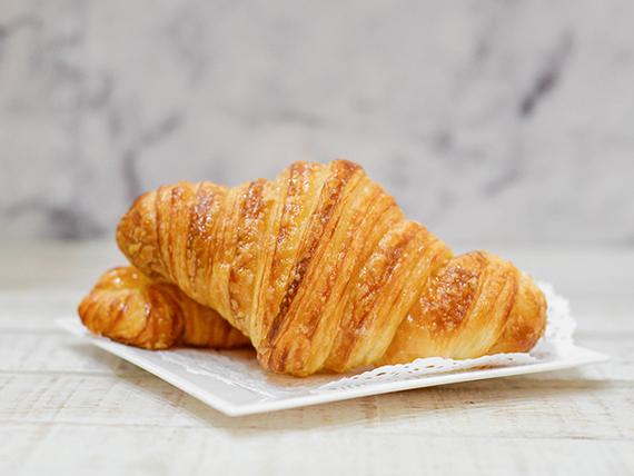 Croissants hojaldrados con almíbar (1 unidad)