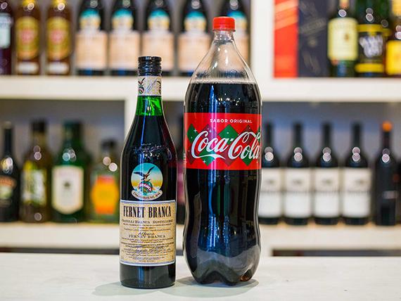 Promo - Fernet Branca 750 ml + gaseosa Coca Cola 2.25 L