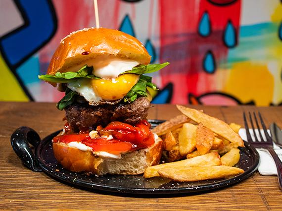 La gaucha burger