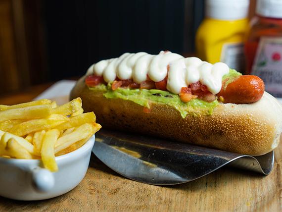 Hot dog Italiano Llanquihue
