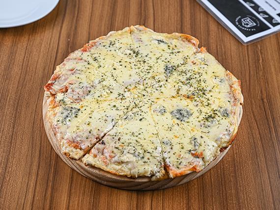 Pizzeta queso azul