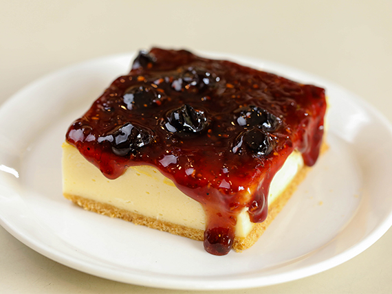 Cheese cake de frutos rojos