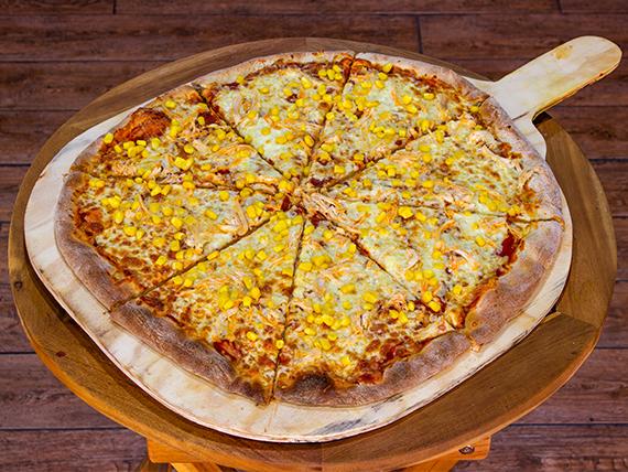 Pizza de pollo y choclo (36 cm)