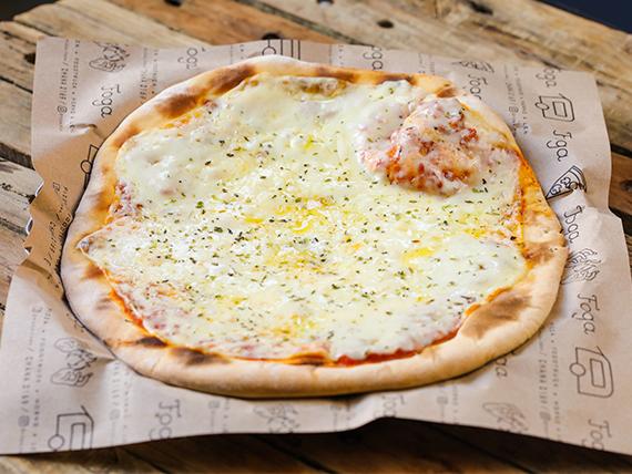 Pizzeta muzzarella clásica