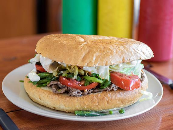 Sándwich gran chacarero