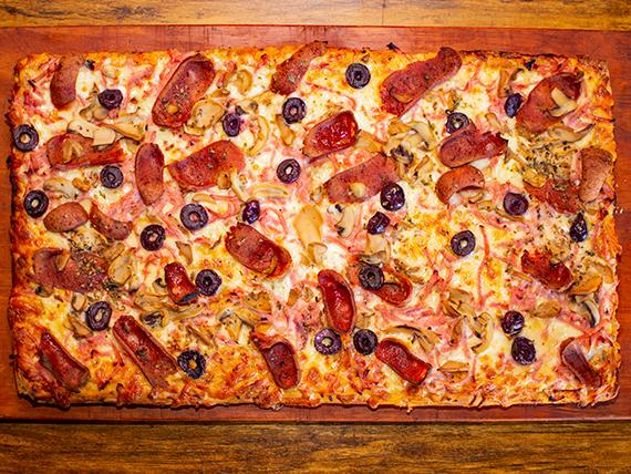Promo - Medio metro de pizza