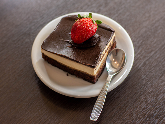 Cheesecake de chocolate (dos personas)
