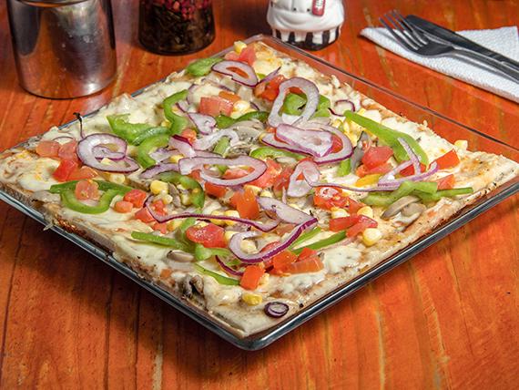 Pizza jardinera (32x32cm)