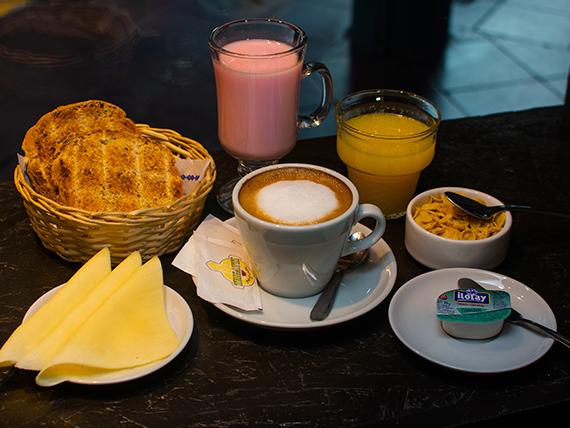 Desayuno o merienda fit