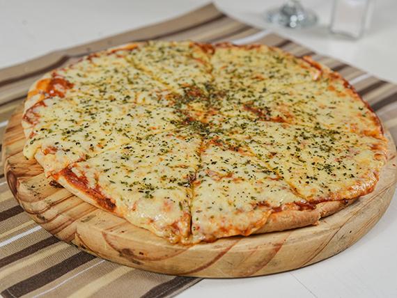 Pizza con muzzarela
