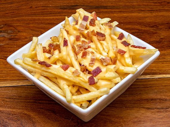 Bacon and cheese fries