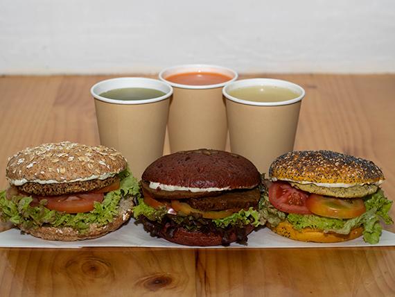 Promo - Trío hamburguesa clásica