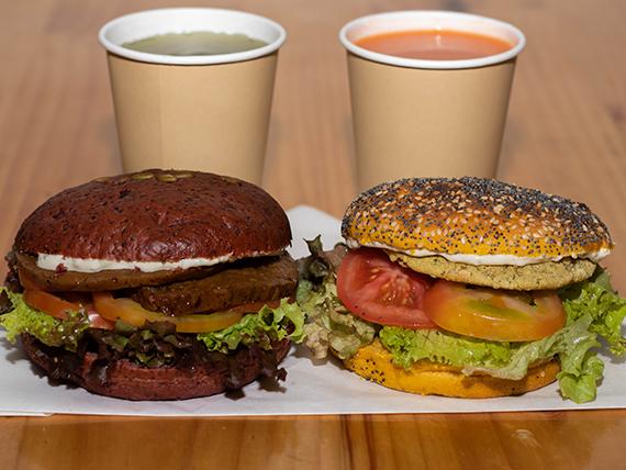Promo - Dúo hamburguesa clásica