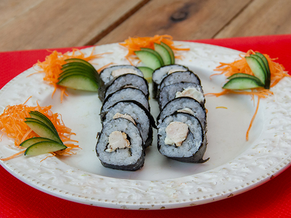 Maki chicken roll (10 unidades)