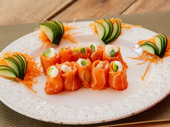 Geishas salmón (10 unidades)