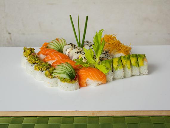 Combo salmón - 30 piezas