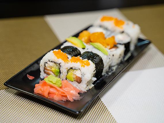 Combinado - 12 Piezas de sushi surtidas
