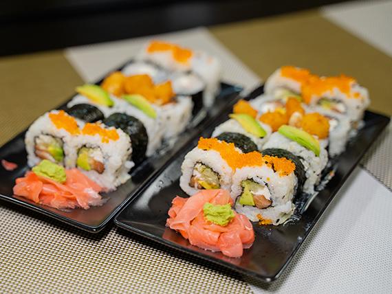 Combinado - 24 Piezas de sushi surtidas