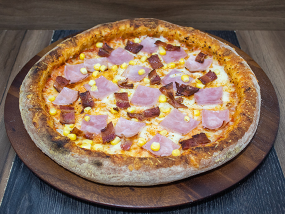 Pizza Mr. Pig bacon