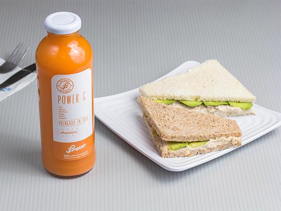 Promoción - 2 Sándwiches a elección + Smoothie mediano