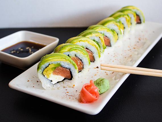 Sake cheese roll