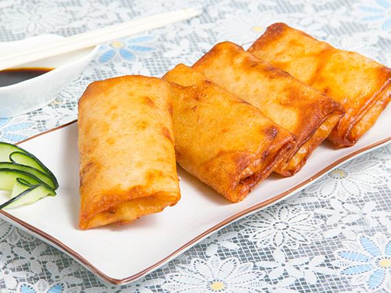 Empanada frita al curry (4 unidades) - Vetnam