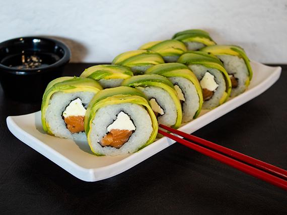 2x1 - Avocado special palta roll  (10 piezas) + bebida lata 330 ml