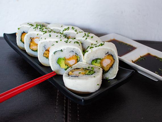Cheese ebi furai roll (10 piezas)