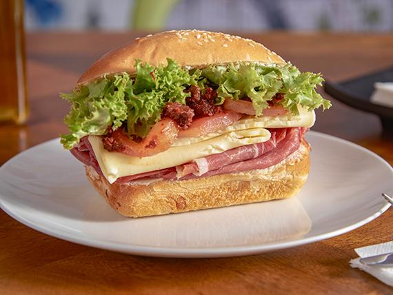 Sándwich provenzal