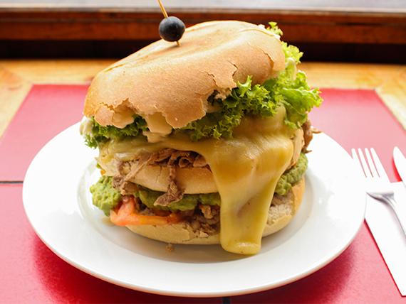 Sándwich clásico El Guatón