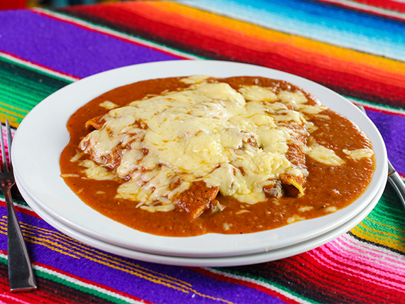 Enchiladas (3 unidades)