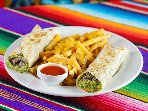 Buffalo burrito (2 unidades)