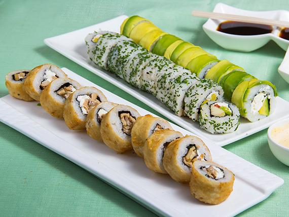 Promo – Inka Food  (30 piezas vegetarianas)