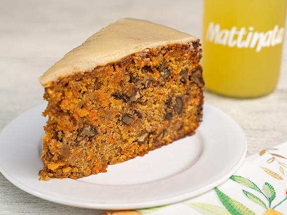 Porción de Carrot Cake integral