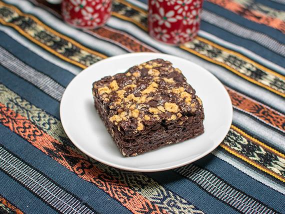 Brownie integral triple de chocolate