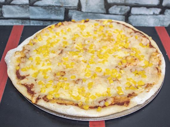 Pizza al maíz