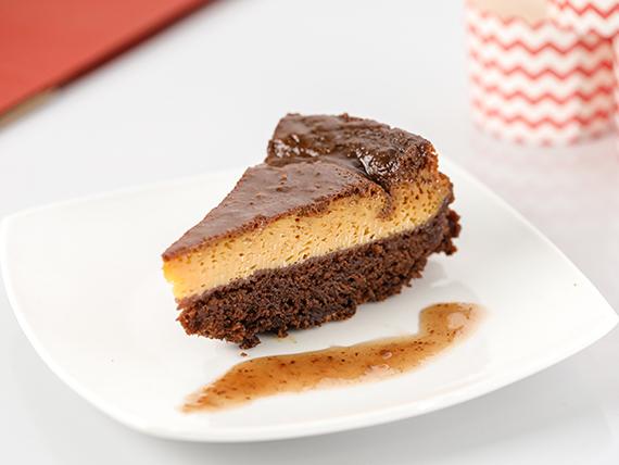 Torta chocoflan
