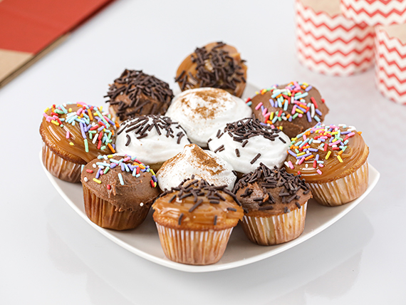 Combo - Mini cupcakes (12 unidades)