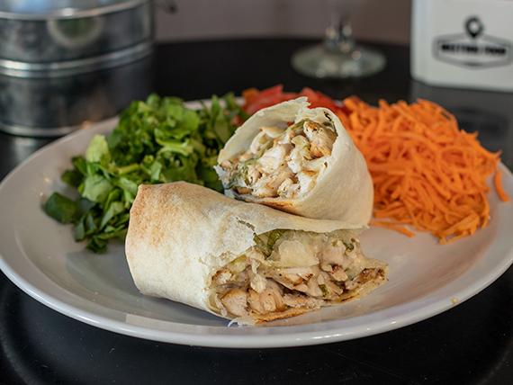 Wrap Caesar con ensalada de 3 ingredientes